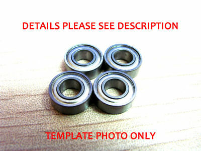 8x16x5 mm Stainless Metal Shield Ball Bearings ABEC-7 SMR688 ZZ A7 AF2