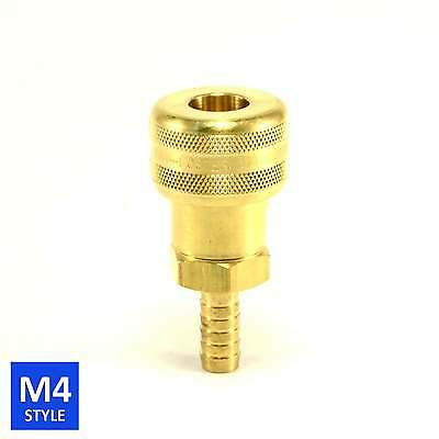 Foster 4 Series Brass Quick Couplers 3/8 Body 3/8 Hose Barb Air water Fittings