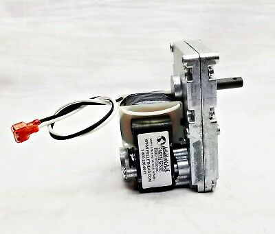 Breckwell Auger Feed Motor Pellet Stove Fireplace 4 RPM CW W/Hole CE010, C-E-010