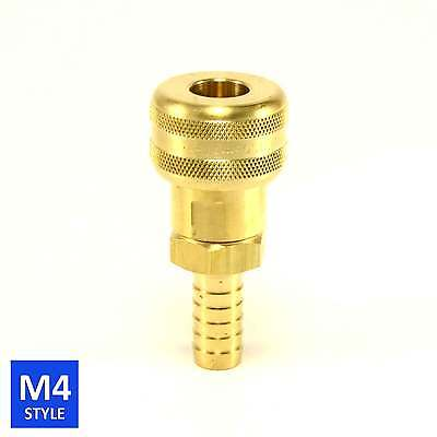 Foster 4 Series Brass Quick Couplers 3/8 Body 1/2 Hose Barb Air water Fittings