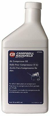 Campbell Hausfeld ST1253 Air Compressor Oil, New, Free Shipping