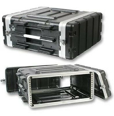 "Stackable ABS 19"" Rack Flight Case - 4RU"