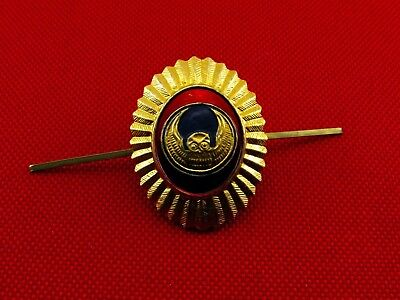 Russian Armed Security Forces «Owl» Hat Metal Pin Badge