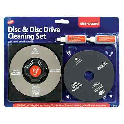 Laser Lens Cleaner Cleaning Kit for PS3 XBOX 360 BLUE RAY DVD PLAYER CD DISC