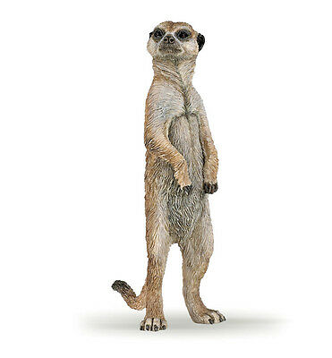 Papo 50206 Meerkat Standing Animal Model FigurineToy Replica 2016 - NIP