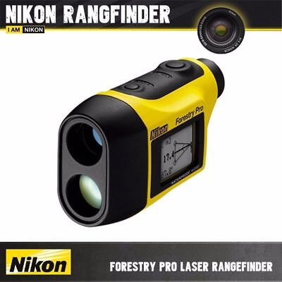 Nikon Laser Forestry Pro Laser Range Finder Angle Compensation Scan Bow Archery