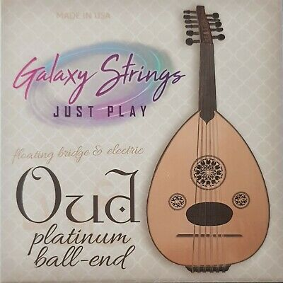 La Bella OU80-AB Oud Arabic Tuning Black Nylon.