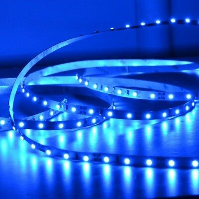 Waterproof 12V Blue 3528 SMD 300 Leds LED Strips Led Strip Lights 5M Car Boat
