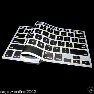 "Silicone Keyboard Cover Skin for Apple Macbook MAC 13"" 15"" 17"" not after 2015"