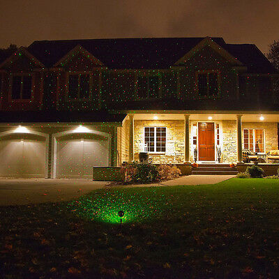Outdoor Light Fixtures Elf Laser Projector Moving Stage Color & Time remote