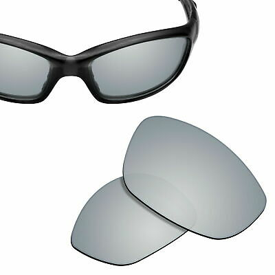 1fb41f0f1708d Polarized Replacement Lenses for-OAKLEY Straight Jacket 2007 Sunglasses  Silver
