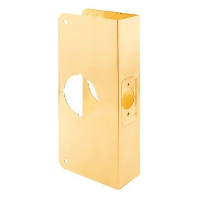 Prime-Line Products U 9540 Door Reinforcer 1-3/8-Inch Thick by 2-3/8-Inch Backse