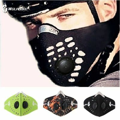Bicycle Bike Cycling Anti-dust Face Mask Filter Mouth-muffle Outdoor Dustproof