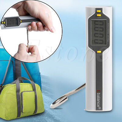 New Portable Electronic Digital Luggage Scale Capacity 50 kg With Tape Measure