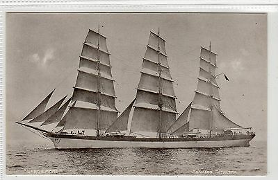 """LARGIEMORE"": Sailing ship postcard (C16477)"