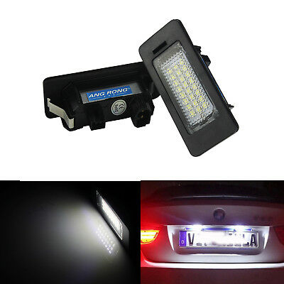 2X Canbus LED Licence Number Plate Light BMW E39 E60 E61 M5 F10 F11 F25 F30 F31