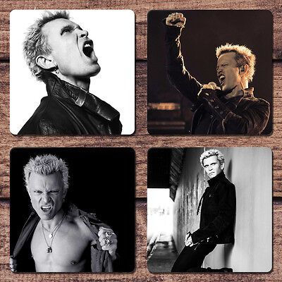 Billy Idol Coaster Set NEW Kings & Queens of the Underground Save Me Now Mony