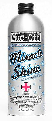 MUC-OFF Miracle Shine Polish with Carnuba Wax Spray 500ml Car Bike & Moto