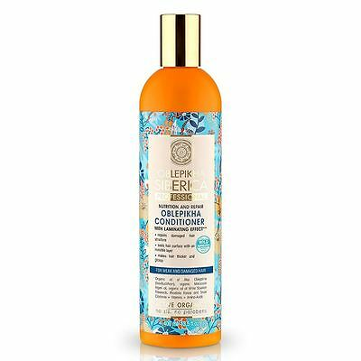 Natura Siberica Professional Oblepikha Conditioner for Weak & Damaged Hair 400ml