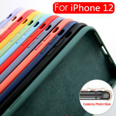 For iPhone 8 X 6s 7 Thin Candy Color Matte Silicone Rubber TPU Phone Case Cover