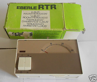Eberle Rtr Luxus Raumthermostat , Thermostat