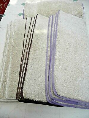 EMPEROR LUXURY BEIGE STAIRTREADS * MULTI COLOUR   12 x THICK PILE  *CHEAP* 1620