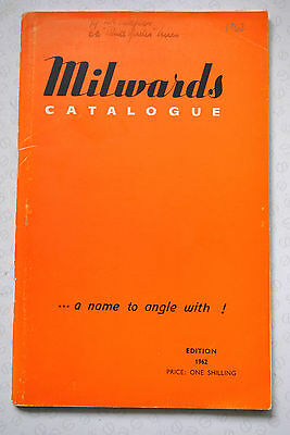 Vintage Milwards 1962 Advertising Fishing Catalogue