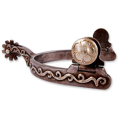 Classic Equine Scroll Spurs