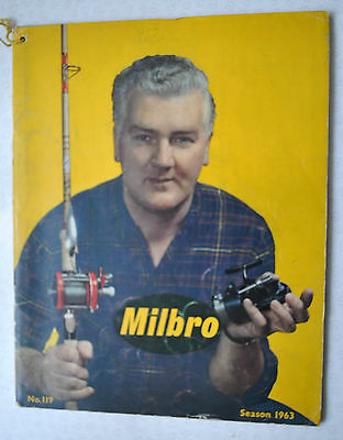 Rare Vintage Milbro Trade Fishing Advertising Catalogue For 1962-63