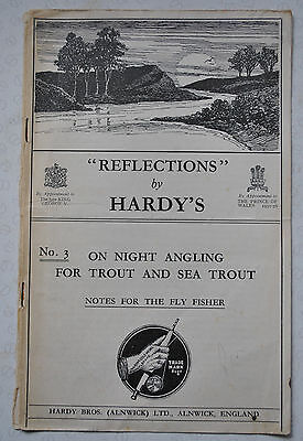 "A Scarce Vintage Hardy Advertising Booklet ""reflections No 3"""