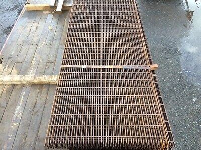 Floor Forge Walkway Self Colour  Steel Grating  3.000 Mtr  x 1.000 Mtr New 25mm