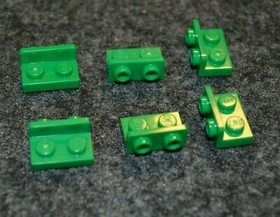 8 1x2-2x2 Light Gray Downward Right Angle Plate ~ Lego ~ NEW ~
