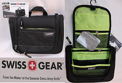 Swiss Gear By Wenger Travel Organizer Hanging Toiletry Bag