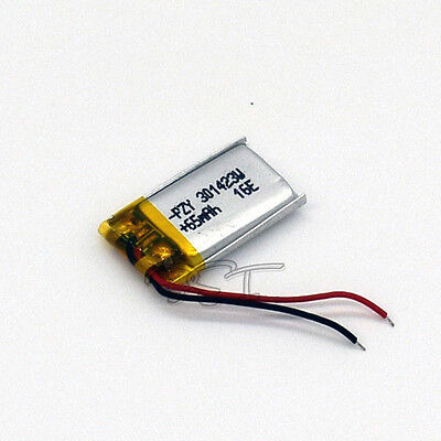 3.7V 65 mAh 301423 Li-polymer rechargeable Battery for MID PDA bluetooth mp3 mp4