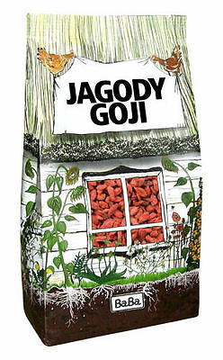 Dried Goji Berries Berry Wolfberry Superfood - BabaFood 1kg (1000g)