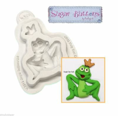Katy Sue Design Frog Prince Decoration Cake Crafting Silicone Mould Sugarcraft