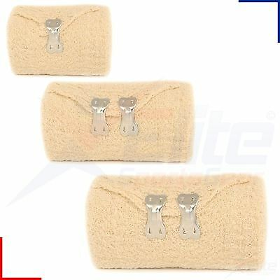 Crepe Bandages Light Support Dressing First Aid Compression Strapping 4.5m