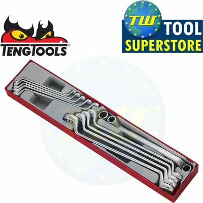 Teng 11pc Double Ring Spanner Set 6-32mm Metric TTX6311 - Tool Control System