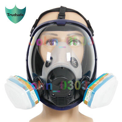 7 in 1 6800 Full Face Respirator Gas Mask Breather Painting Spraying Facepiece