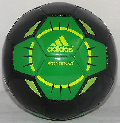 Junior Adidas Starlancer Black/Green Football RRP £19.99