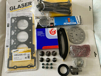 SMART CAR 600cc 599cc REBUILD KIT PISTON RINGS EXHAUST VALVES TIMING CHAIN KIT