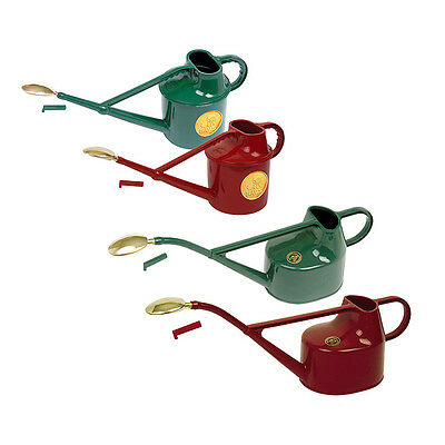 Haws 5 Litre Classic Deluxe Outdoor Plastic Watering Can Various Colours