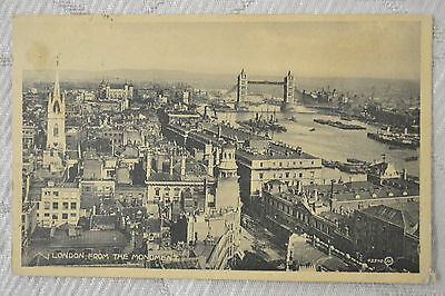 """CPA """" LONDON from the monument"""