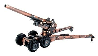 Army Long Cannon Die Cast Metal Collectible Pencil Sharpener