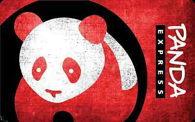 Panda Express Gift Card - $25 $50 or $100 - Email delivery