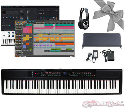 ARTESIA PA88W Portable Fully Weighted 88 Note Electronic Digital Piano Keyboard