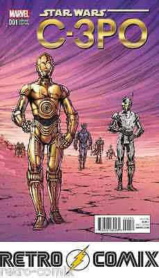 Marvel Star Wars C-3Po #1 Nauck 1:25 Variant New/unread Bagged & Boarded