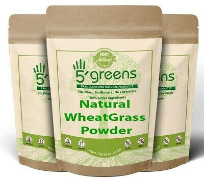 Organic Wheatgrass powder Detox, Cleanse, Diet ,Weight Loss, No additives