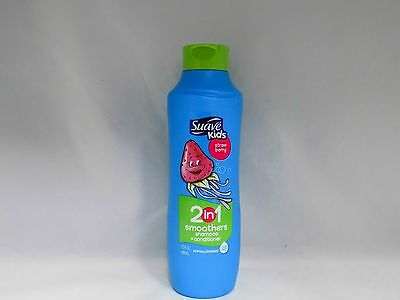 Suave Kids 2 in 1 Smoothers, Shampoo & Conditioner, Strawberry, 22.5 Fl. Oz