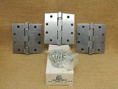 CRL Template Alum Finish Butt Hinges  DISCONTINUED BB31A Ball Bearing   3 total